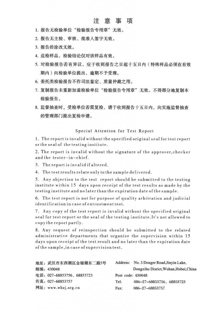 Noproblem Ion Balance Test Report (Pg 2/6)