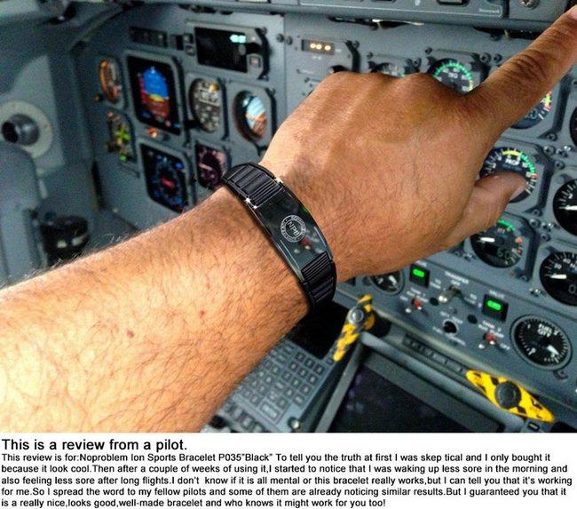 Noproblem Ion Balance Health Bracelet (P035)