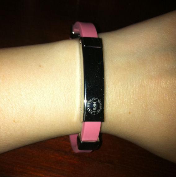 P054 Health Bracelet Pink Customer Testimonial