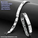 Improve Energy Stainless Steel Health Bracelet