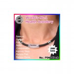 Noproblem Ion Balance Health Necklace P046 (Black)