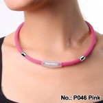 Noproblem Ion Balance Health Necklace P046 (Pink)