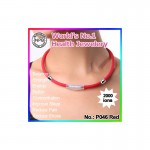 Noproblem Ion Balance Health Necklace P046 (Red)