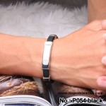Noproblem Ion Balance Health Bracelet (P054) (Black)