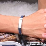 Noproblem Ion Balance Health Bracelet (P054) (Dark Blue)