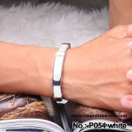 Noproblem Ion Balance Health Bracelet (P054) (White)