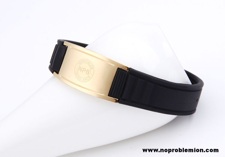 Stylish Anti-Radiation, Anti-Fatigue Noproblem Ion Balance Health Bracelet