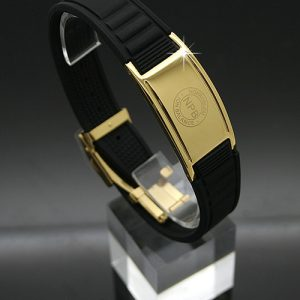 P035 Gold Negative Ion Health Bracelet