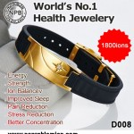 Anti-Fatigue Waterproof Tourmaline Energy Bracelet D008