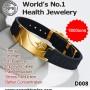 Anti-Fatigue Waterproof Tourmaline Energy Bracelet D008