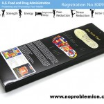 www.noproblemion.com Bio-Insole Helps Stress Reduction