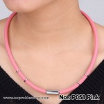 Negative Ion Unisex Health Necklace Noproblemion P058 Pink