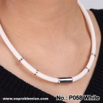 P058 47cm 52cm Unisex Anti-radiation Health Titanium White
